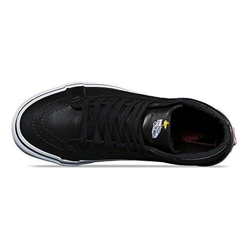 Vans Hombres Sk8-hi Reedición - Snoopy (negro) Negro