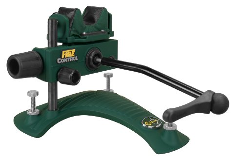 Caldwell Fire Control Rest Adjustable Ambidextrous Rifle Shooting Rest for Outdoor Range ()