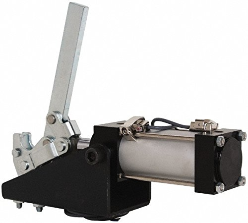 Gibraltar - 1,000 Lbs. Inner Holding Capacity, Vertical Mounting, Pneumatic Power Hold Down Toggle Clamp by Gibraltar