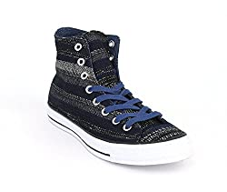 Converse Chuck Taylor All Star Dobby Weave Hi Lace up casual Shoes (6.5M)