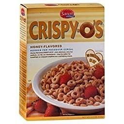 Crispy-O\'s Honey Flavored Kosher For Passover 6.6 Oz. Pack Of 3.