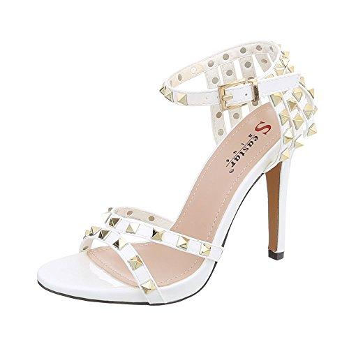 00c66a5e3 Envio gratis Zapatos para mujer Sandalias de vestir Tacón ancho Sandalias  con hebilla Ital-Design
