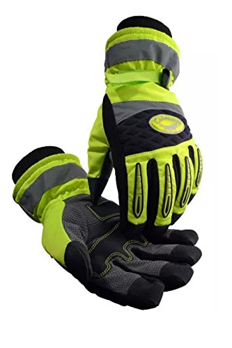 Caiman 2991-5 Rhino-Tex Heatrac III HI-VIS Glove