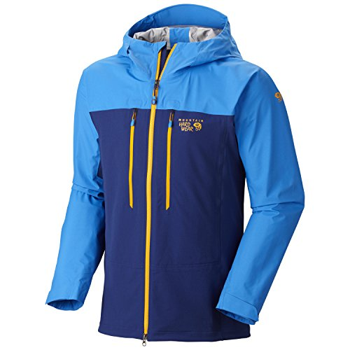 Mountain Hardwear Mixaction Jacket - Men's Cousteau/Hyper Blue X-Large