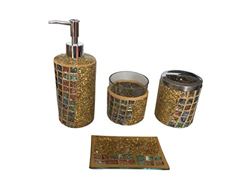 Gold bathroom accessories - Trenters.com