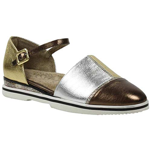 J.Renee Womens Lonnell Metallic Multi Flat - 8.5 M