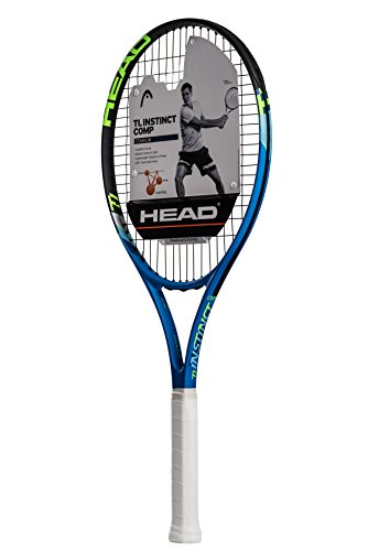 HEAD Ti.Instinct Comp Tennis Racquet (4-1/8), Strung