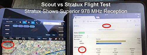 41URFYpsRnL - Stratux ADS-B Dual Band Receiver Aviation Weather and Traffic - AHRS, Battery Pack, Suction Mount, Internal WAAS GPS, Antennas, SDR, Case with Fan for ForeFlight, iFly, FlyQ, WingX