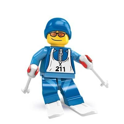 Lego Collectable Minifigure Series 2 - Downhill Skier - Sealed: Toys & Games