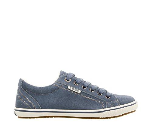 Taos Women's Retro Star Blue Suede 9.5 B (M) US by Taos Footwear (Image #3)