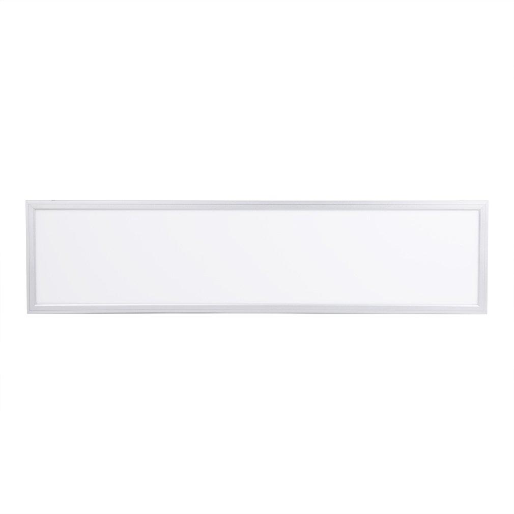 Anten® Neutralweiß 30x120cm 60W 4000LM 4000LM 4000LM Panellampen Pendelleuchten Deckenleuchte LED Panel Deckenlampe Energiespar 4000-4500K mit Befestigungsmaterial + LED Treiber + Seilset d4877f