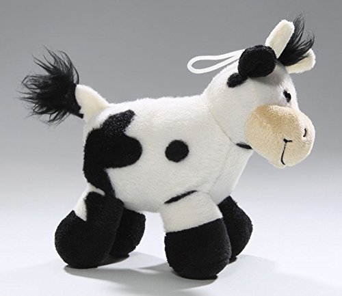 Amazon.com: Carl Dick Cow black-white, 6 inches, 15cm, Plush Toy, Soft Toy, Stuffed Animal 3207003: Toys & Games