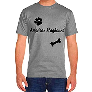 American Staghound Dog Cat Rescue Funny T-Shirts Tee Tshirt Men Women 36