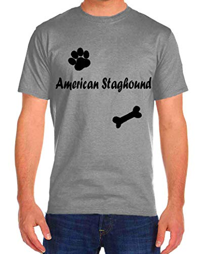 American Staghound Dog Cat Rescue Funny T-Shirts Tee Tshirt Men Women 1
