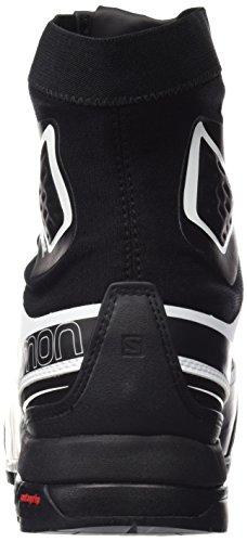 Black Unisex Adulto Salomon Zapatillas L36826800 de Black Negro White Senderismo aFwRB8qRxI