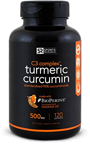 Turmeric Curcumin C3® Complex; Turmeric Supports Healthy Aging, Vision, Joint & Liver; Enhanced with Black Pepper for Better Absorption; Made In USA; 100% Money Back Guarantee. (120 liquid softgles)