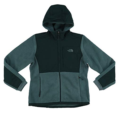 The North Face Green Denali Jacket - The North Face Denali Hoodie Women's Balsam Green/Darkest Spruce X-Small