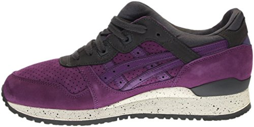 free shipping for nice Asics Gel-Lyte III Men Round Toe Suede Purple Running Shoe Purple/Purple clearance Inexpensive deals online free shipping footlocker pictures e2tfhAaj