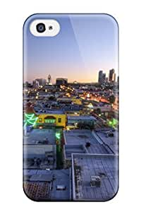 High Quality EbRQphv11818JfxYG Los Angeles City California Usa Man Made City Tpu Case For Iphone 4/4s