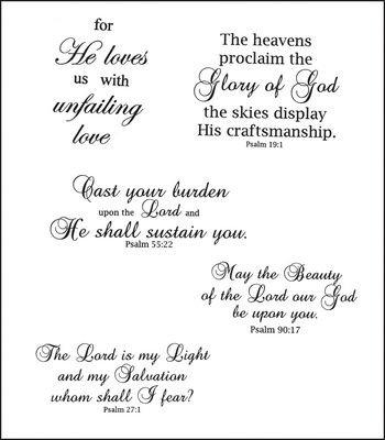 amazon com heartfelt creations uplifting scriptures cling rubber