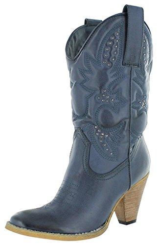 Very Volatile Denver Womens Cowboy Boots Inik 10