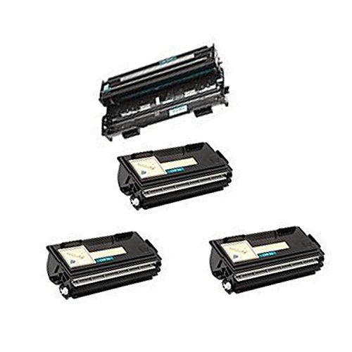 New Compatible Brother DR400 Drum Unit and TN430 x3 Toner...