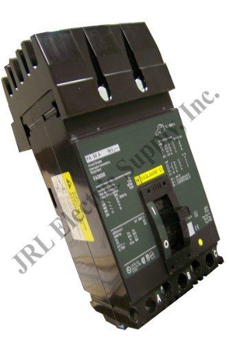 Square D I-Line FA34020 20 Amp Circuit Breaker 480V S2 Type FA-34020 ILine 20A by SQUARE D