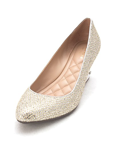 Cole Glitter 15A4108PA Pumps Silber Closed Toe Womens Haan Gold Wedge HqxHFZUr