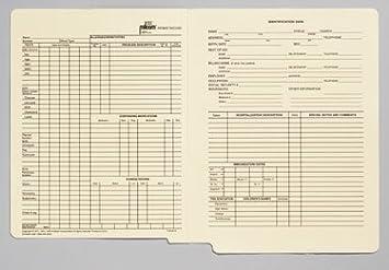 amazon com briggs health care milcom medical record jacket format
