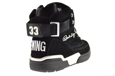 Patrick Ewing - Zapatillas de Material Sintético para Hombre Black White 33: Amazon.es: Zapatos y complementos