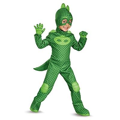Gekko Deluxe Toddler PJ Masks Costume, Large/4-6: Disguise: Toys & Games
