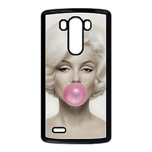 LG G3 phone cases Black Marilyn Monroe Phone cover PQS5164188
