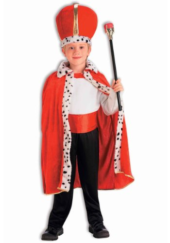 Child King Robe and Crown Set (scepter, sash, pants, shirt, shoes not included)