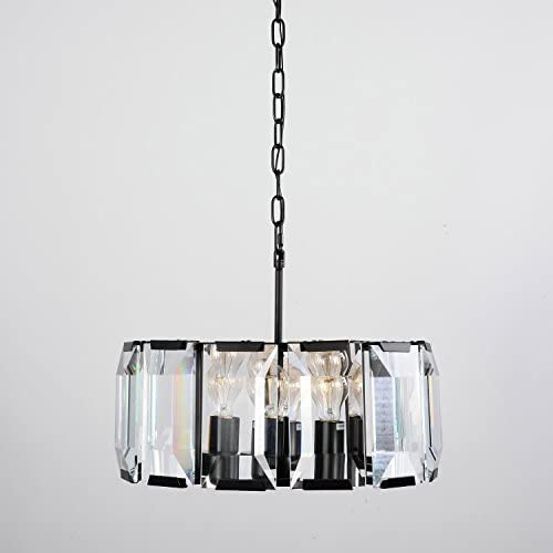 LightInTheBox Vintage Bulk Crystal Ceiling Chandelier, Modern Home Ceiling Light Fixture Flush Mount, Pendant Light Chandeliers Lighting, Voltage 110-120V