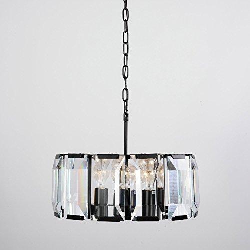 LightInTheBox Vintage Bulk Crystal Ceiling Chandelier, Modern Home Ceiling Light Fixture Flush Mount, Pendant Light Chandeliers Lighting, Voltage=110-120V