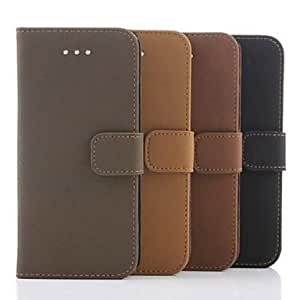 GJY Ancient Pattern Wallet Leather Case for iPhone 6(Assorted Colors) , Black