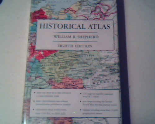 Historical Atlas 8TH Edition (Name Competition Ideas Christmas)