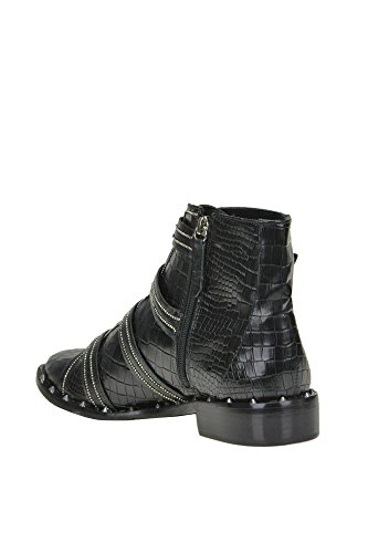 Inexpensive Inexpensive for sale Schutz Women's MCGLCAS04013I Black Leather Ankle Boots 8GXPlXR