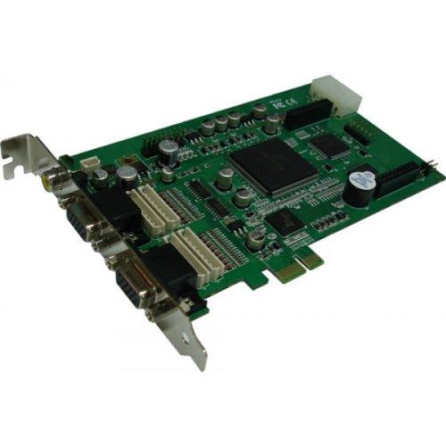 Pci Dvr Board (DiViS 120AE16 CCTV 120fps 16CH Video DVR Capture Board)