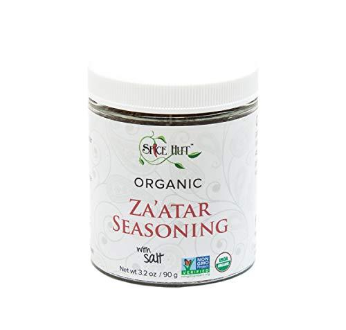 The Spice Hut Organic Za'atar ( Zatar/Zahtar/Zaatar) Seasoning, Middle Eastern Spice Blend, with Salt 3.2 ()