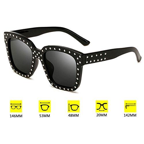 Nuevas 400 Para Conducción Protección Libre Fashion Retro Trend Sol De Uñas Redondas Decoración C2 Unisex Gafas De UV Gafas Aire Para De Cool Y qUwafn