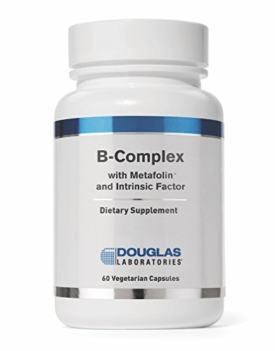 Douglas Laboratories - B-Complex w/Metafolin - Supports Blood Cells, Hormones, and Nervous System* - 60 Capsules