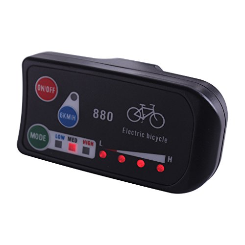 ZOOMPOWER 36v 48v electric bicycle kt led led880 ebike control panel display electric bike parts for kt controller by ZOOMPOWER