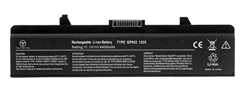 TechOrbits New Laptop Battery for Dell Inspiron 1525 1526 1545 1546 1750 1440 PP29L PP41L, Fits P/N X284G M911 M911G GW240 GP952 RN873 K450N RU586 C601H 312-0844 - 3 Years Warranty [Li-ion 6-Cell] (Best Battery For Dell Inspiron 1545)
