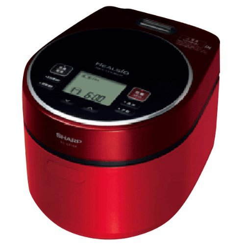 Sharp Herushio Rice Cookers 2mm Iron Kettle Type Red System Ks-gx10a-r Thickness 31 Menu