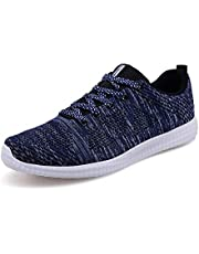 Mens Womens Lightweight Sports Running Shoes Gym Sports Fitness Trainers Walking Shoes