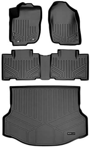 MAXLINER Floor Mats and Cargo Liner Set Black for 2013-2018 Toyota RAV4 (No Electric or Hybrid Models)
