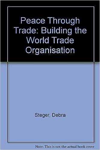 Ilmainen online-pdf-tiedostojen lataaminen Peace Through Trade: Building the World Trade Organisation Suomeksi PDF DJVU FB2 1874698740