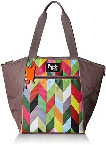 French Bull Medium Tote Bag - Insulated, Women, Girl, Lunch, Purse, Grocery, Shopping - Ziggy - Designer Shopper Large Purse