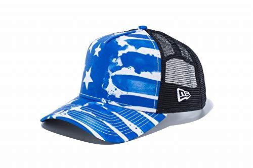 ニューエラ NEW ERA 帽子 940 AFTR WATER PAINT SAS キャップ ブルー フリー